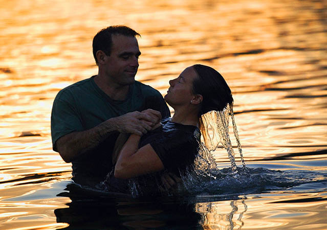 Baptism is one of the initial acts that a new Christian must experience dur