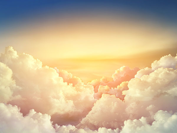 In Scripture, a cloud can be called an emblem of God, appearing frequently