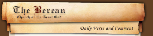 The Berean: Daily Verse and Comment